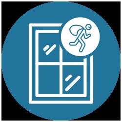 Icon Einbruchschutz Fenster
