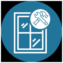 Icon Fensterreparatur