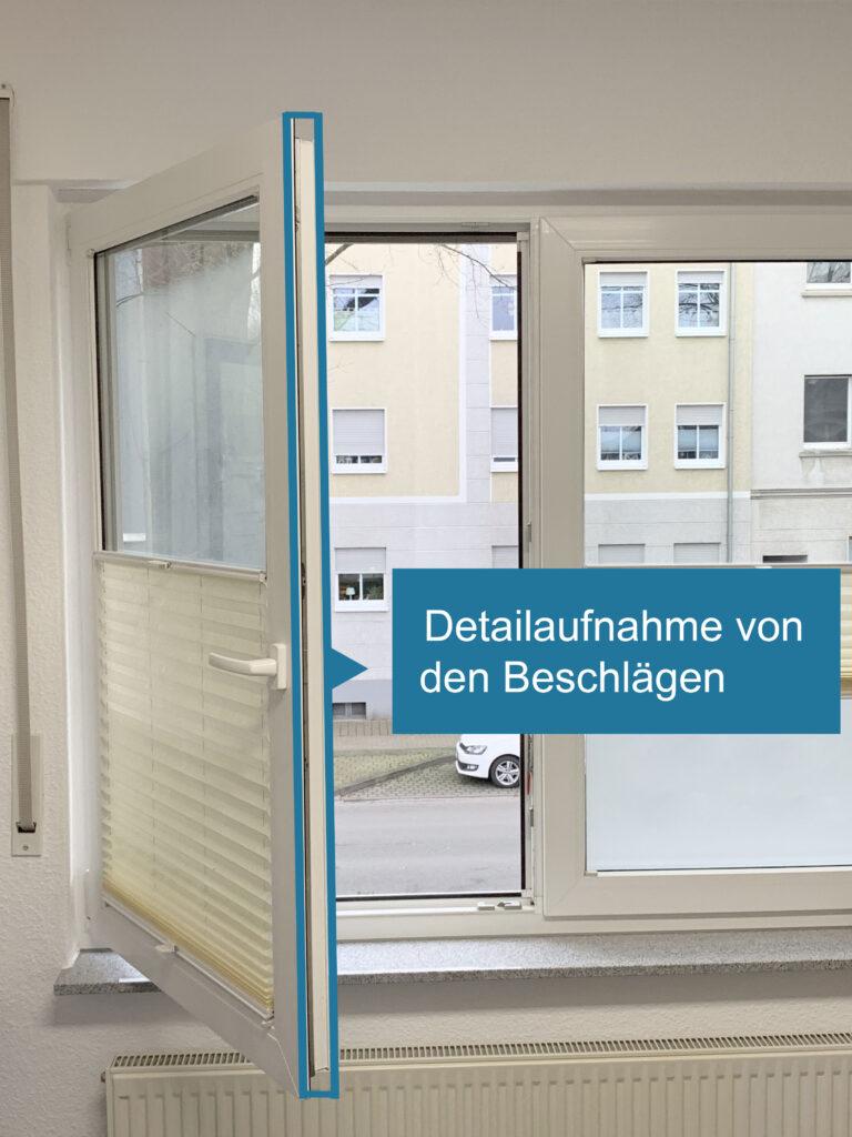 2. Ansicht Fenster geöffnet